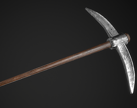Pickaxe Game Ready PBR Model 3D asset realtime