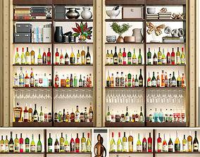 3D Alcohol Bar Set 3