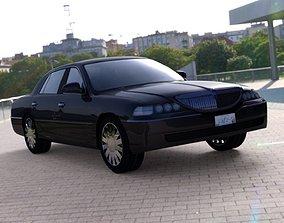 Luxury Sedan Car for DAZ Studio 3D model