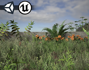 3D model Nature Assets - Foliage Package