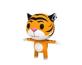 3D Little Tiger