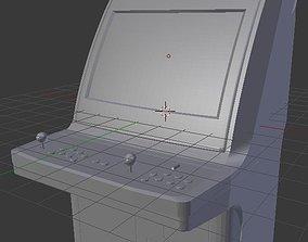 Sega Astro City arcade cabinet 3D print model
