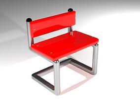 chair 3D print model house