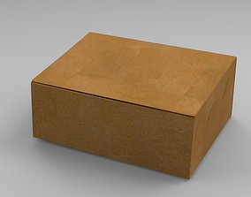 box packaging 3D asset rigged