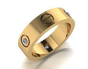 free-ring free wedding ring copy 3D printable model