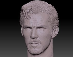 Doctor Strange head Benedict 3D printable model