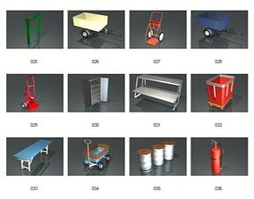 Dosch 3D - Industrial Objects V2