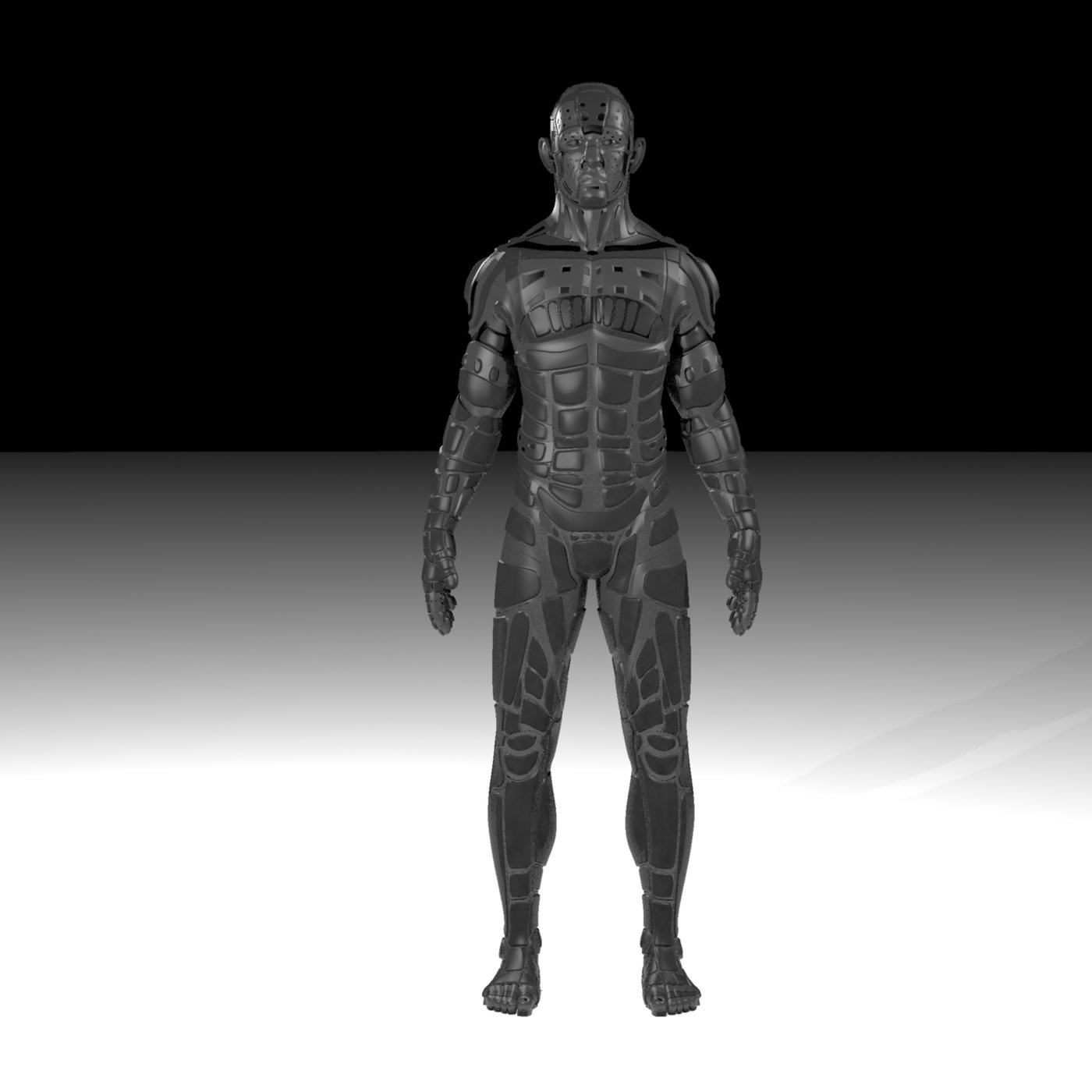 Male Robot 02 - MR02