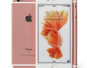 Apple Iphone 6S Rose Gold 3D model
