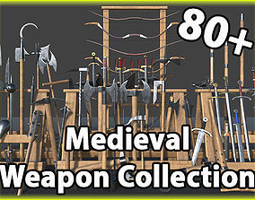 3D model Medieval Weapons Collection Vol1