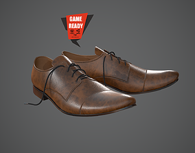 Shoes PBR GAme Ready Lowpoly 3D model