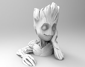 studio 3D print model Groot