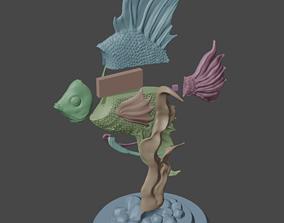 3D printable model Pterophyllum scalare