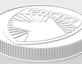 3D print model Power Rangers Legacy Morpher SPD Coin