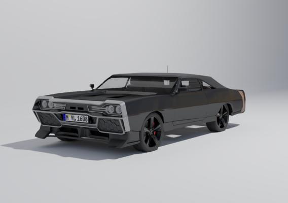Futuristic car