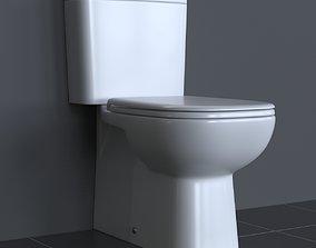3D model Duravit D-Code Toilet