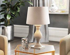 Back East 48cm Table Lamp - 2 option 3D