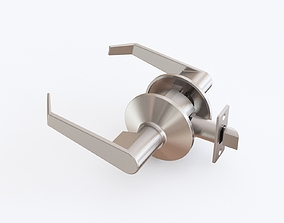 Door latch 3D model