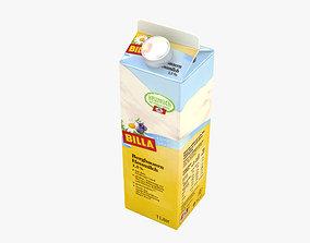 cardboard-box 3D model Milk Carton
