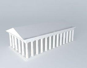 3D model Doric Order Basic
