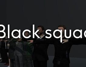 Black squad 3D model