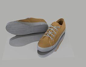 Pair of shoes 3D asset