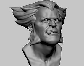 3D printable model Wolverine Bust v2