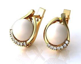 3D print model Earrings BS065
