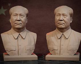 3D printable model Mao Zedong