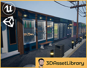 3D asset Stores Vol 1 For Unreal And Unity