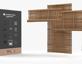 3D model Bamboo Blind Generator HDA