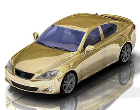Luxury Sedan Car 2 for Poser 3D model