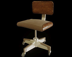 Vintage Office Chair 3D