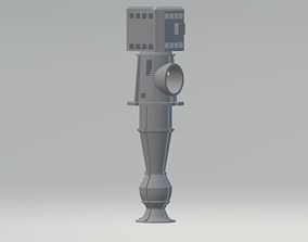 miniatures 3D printable model Vertical turbine pumps