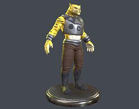 3D model Mutant Cat