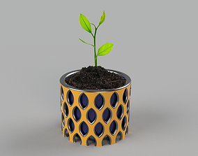 3D printable model vase for flowers very useful for home