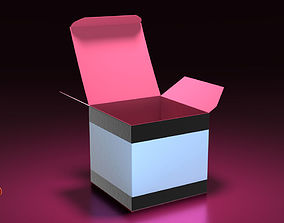 Creme Jar Box v001 3D model