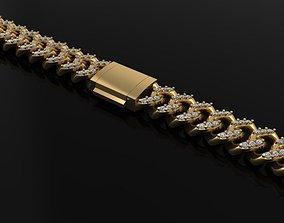 Diamond Cuban Link Chain 3D printable model