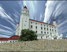 Bratislava castle - 18th century 3D model