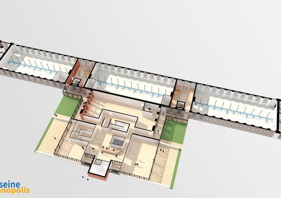 Seine Innopolis 3D model