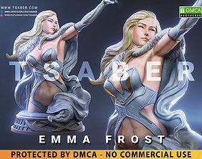 3D printable model Emma Frost Bust - Xmen Mervel