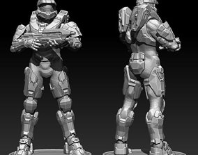 Master Chief Halo model 3D for printing