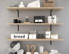 3D Decorative Kitchen Set