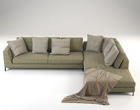 3D Ray sofa corner