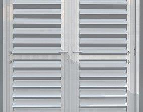 3D French shutter door