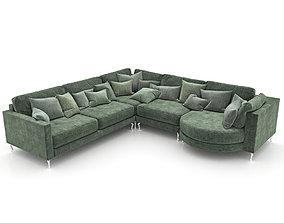 243-Sofa FAMA Opera 3 3D