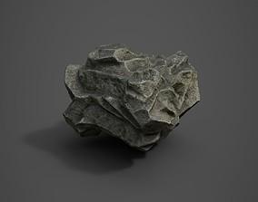 3D asset Rock Formation 3