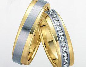 3D print model Wedding ring 025