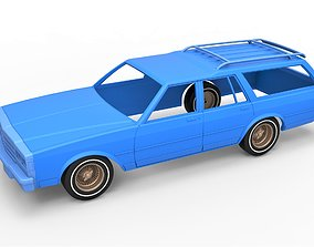 Diecast shell and wheels of old school 3D print model 4
