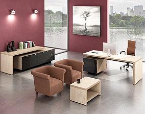 office interior 3D model modern